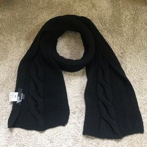 SOLD!! LOVE MOSCHINO KNIT SCARF UNISEX